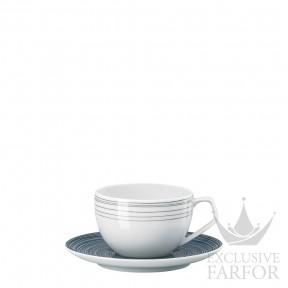 11280-403261-14715 Rosenthal TAC Stripes 2.0 Чашка эспрессо с блюдцем 0,12л