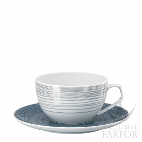 11280-403261-14770 Rosenthal TAC Stripes 2.0 Чашка с блюдцем 0,30л