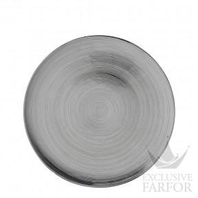 "11280-403262-10263 Rosenthal TAC Stripes 2.0 ""platin titanisiert"" Тарелка подстановочная 33см"