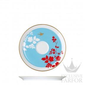 """UN200955700 Sieger by Fürstenberg My China! Emperor's Garden """"KONISCHE-FORM"""" Блюдце 17см"""