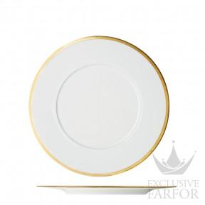 """FL2006325703 Sieger by Fürstenberg My China! Treasure Gold """"FAHNEN-FORM"""" Тарелка подстановочная 32см"""