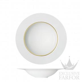 """TF2009235703 Sieger by Fürstenberg My China! Treasure Gold """"FAHNEN-FORM"""" Тарелка для спагетти плоская 23см"""