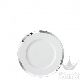 """FL2006185701 Sieger by Fürstenberg My China! Treasure Platinum """"Fahnen-Form"""" Тарелка десертная 18см"""