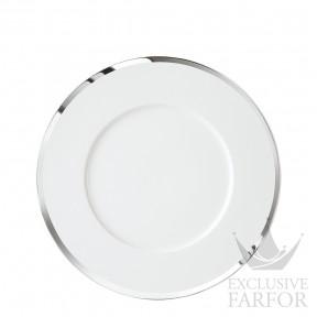 """FL2006325701 Sieger by Fürstenberg My China! Treasure Platinum """"Fahnen-Form"""" Тарелка подстановочная 32см"""