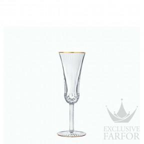 "30108000 St. Louis Apollo ""Gold rim"" Флюте для шампанского 90мл"