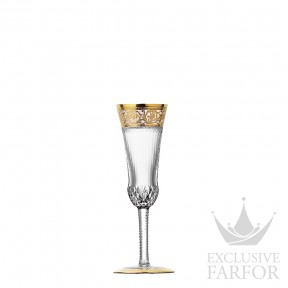 "30708000 St. Louis Thistle ""Gold engraving"" Флюте для шампанского 90мл"