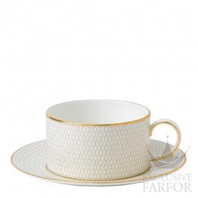40007548 Wedgwood Arris Чашка чайная с блюдцем