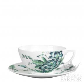 """1053486 Wedgwood Jasper Conran - Chinoiserie """"White"""" Чашка чайная с блюдцем 230мл"""
