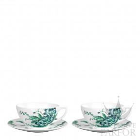 """40005336 Wedgwood Jasper Conran - Chinoiserie """"White"""" Чашка чайная с блюдцем, 2шт."""